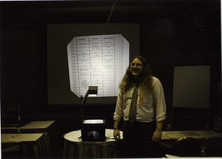 Me and the schedule, 1988 GR User's Group, Tampa