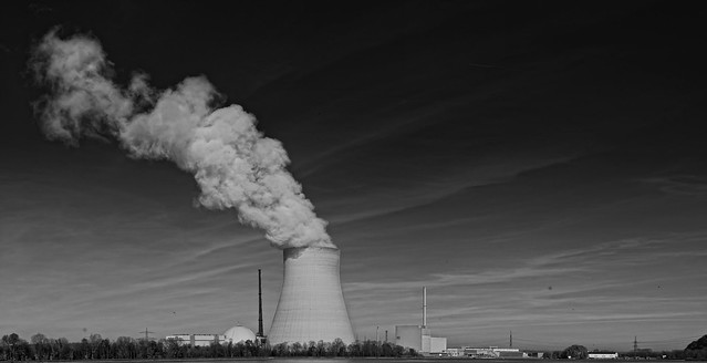 photo of nuclear reactor