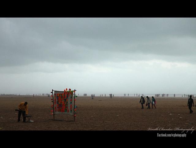 Foggy Marina Beach