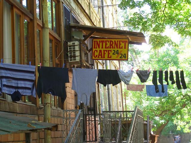 24-hour Internet Cafe - Tbilisi, Georgia