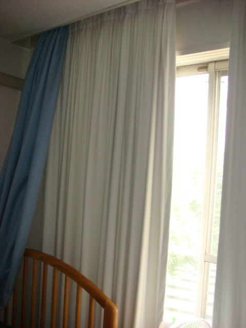 curtains to block sunlight