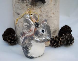 Squirrel Hanging Ornament