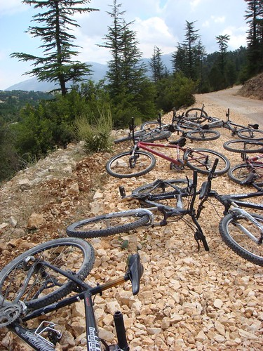 Discarded bikes