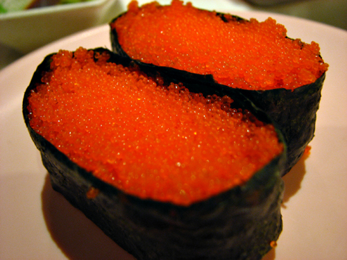 Sakae sushi malaysia food travel blog for Fish eggs on sushi