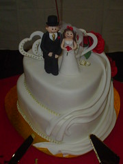 buttercream(0.0), icing(0.0), birthday cake(0.0), torte(0.0), cake(1.0), fondant(1.0), baked goods(1.0), sugar paste(1.0), food(1.0), cake decorating(1.0), wedding cake(1.0), cuisine(1.0),