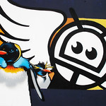 Penguins graffity