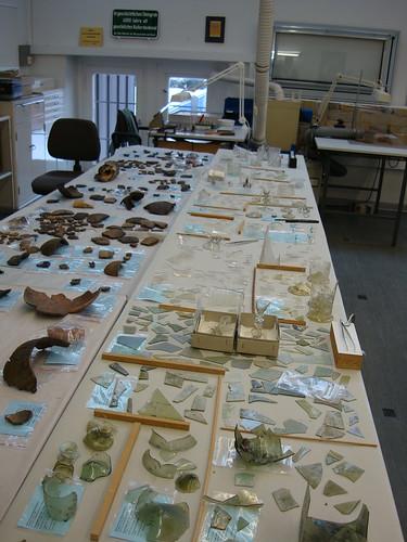 Archäologie- ein Arbeitsplatz