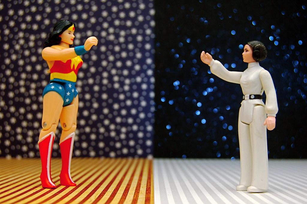 Princess Diana vs. Princess Leia (297/365)