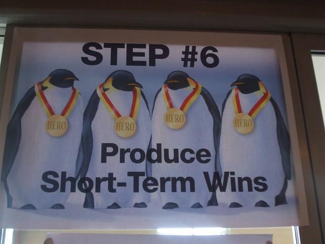 Short Term Wins : Step produce short term wins flickr photo sharing
