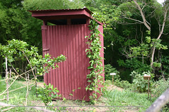 outdoor structure, garden, garden buildings, outhouse, shed,