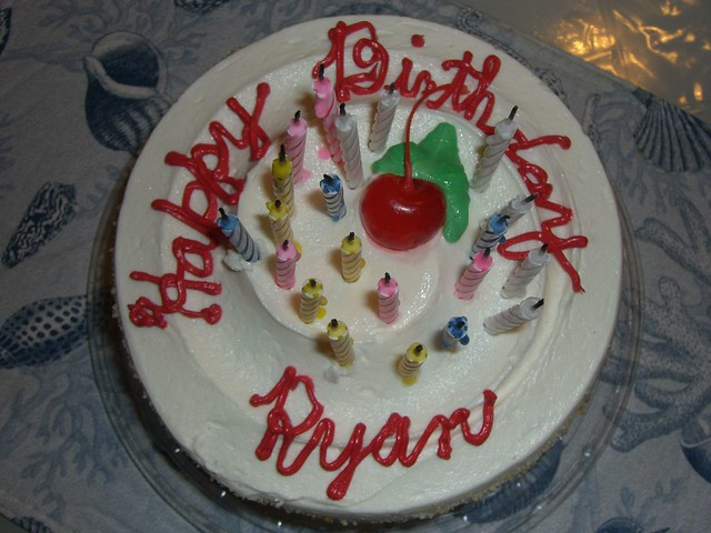 Ryans Happy Birthday Cake Flickr Photo Sharing