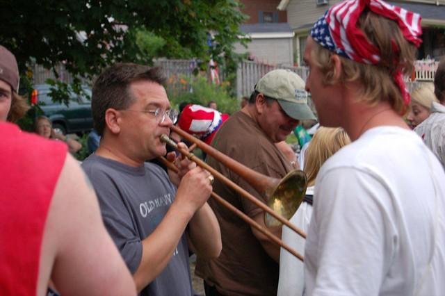 Rusty trombone pictures
