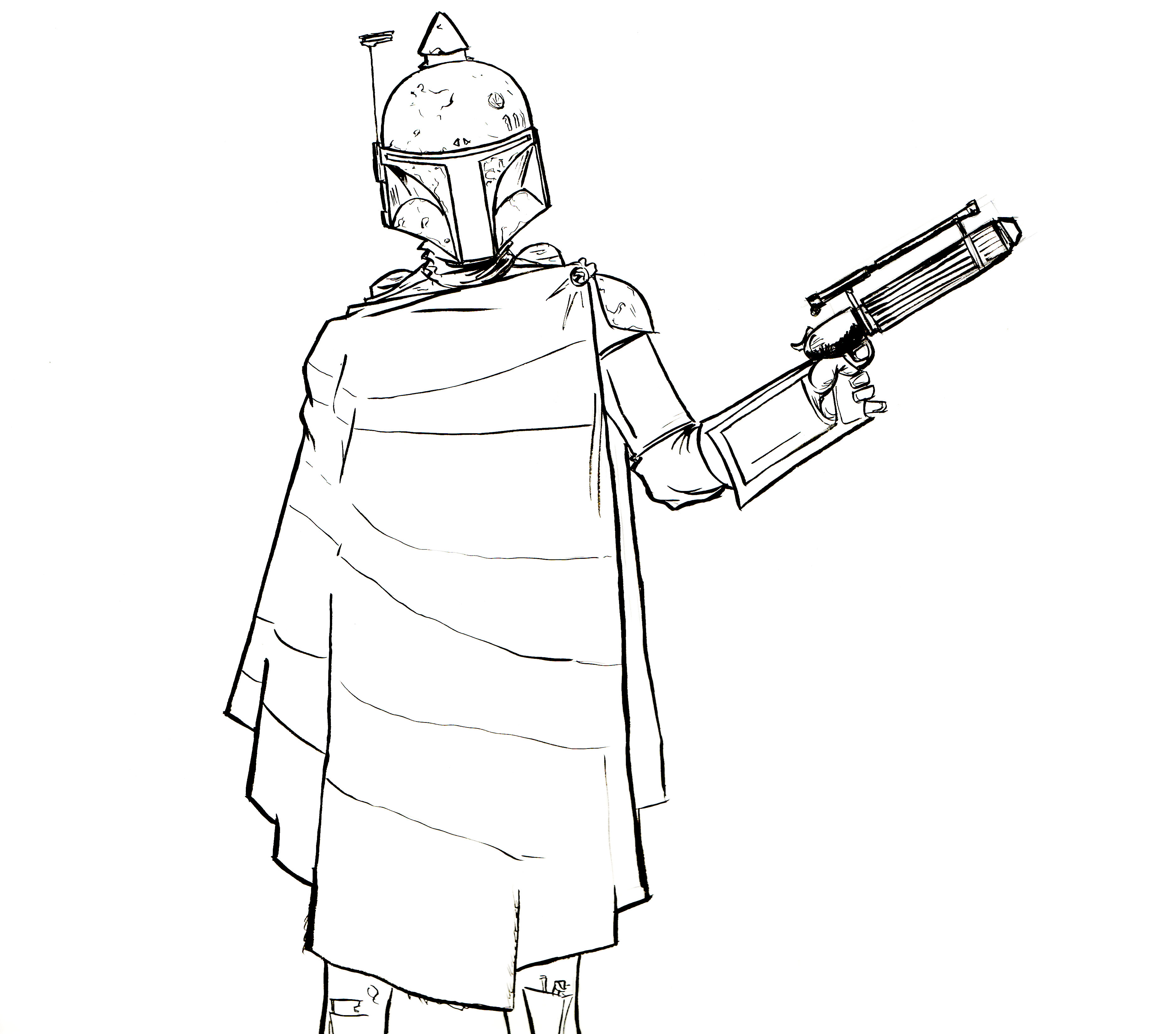 Boba fett helmet coloring pages for Lego jango fett coloring pages