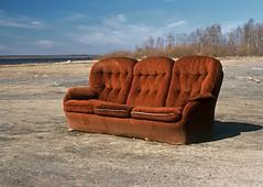 Przedmioty codziennego użytku: kanapa / Everyday use items: a couch