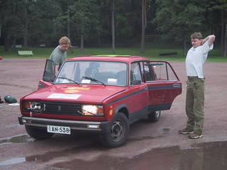 Team Lada arrived