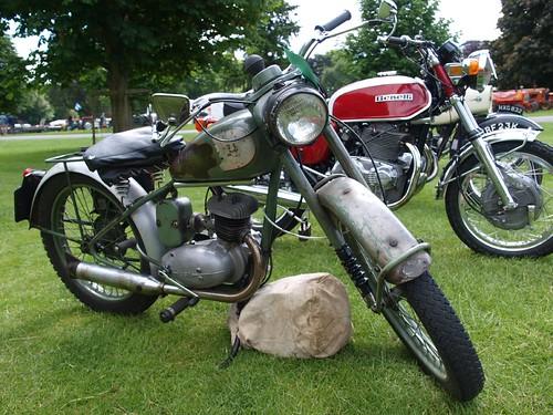 BSA Bantam 125cc Motorcycle - 1954