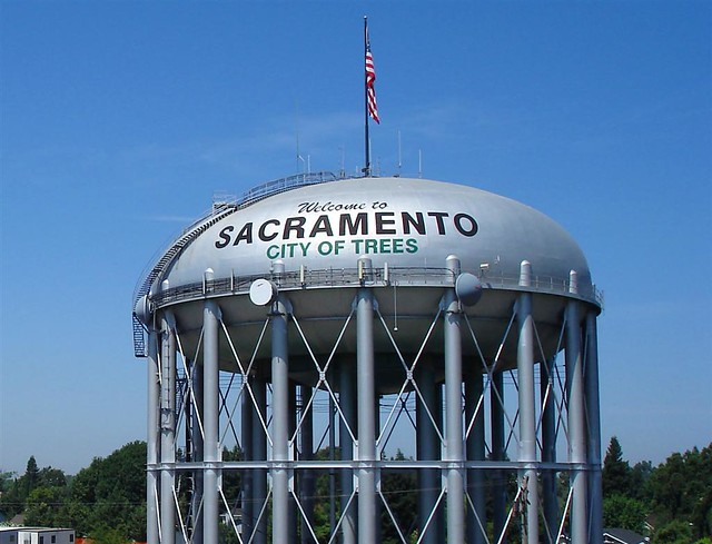 sacramento water tower