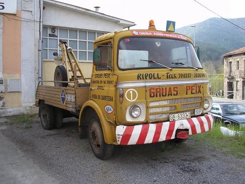 camió Barreiros Saeta a Ripoll (1972)