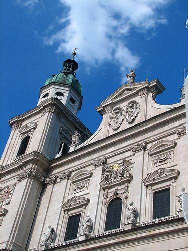 大教堂頂端.
