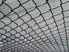 pattern, chain-link fencing, mesh, line, design, road surface,