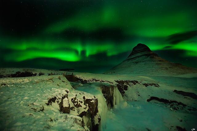 Iceland: Aurora  Borealis by vicmontol, on Flickr