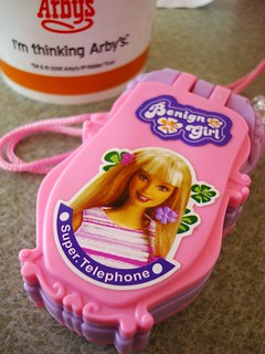 Benign Girl Super Telephone brings Happy Fun Time! Yay!