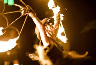 fire dancers 2