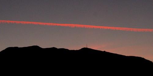sunset sky clouds austria see österreich sonnenuntergang hill himmel wolken kärnten carinthia ausblick hügel millstätter
