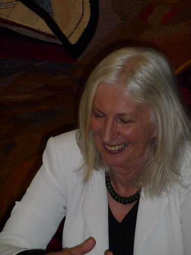 Anne Salmond signing