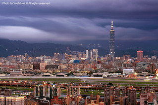 Taipei City at Night │ May 16, 2010