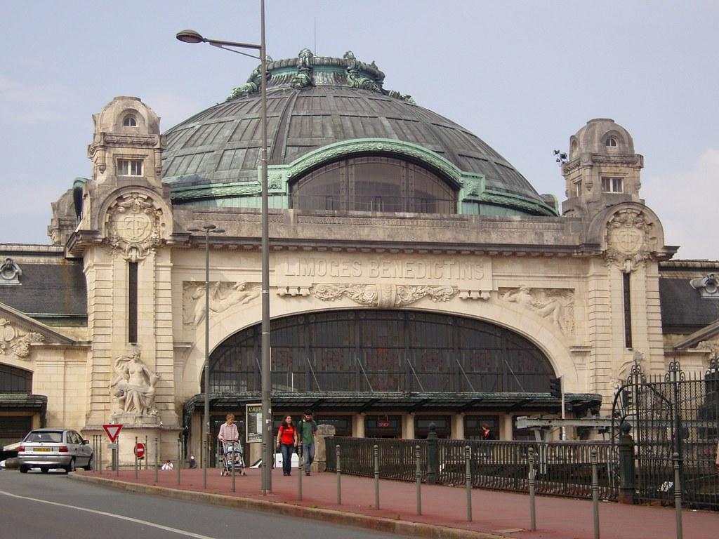 Gare de Limoges (B\xe9n\xe9dictins)