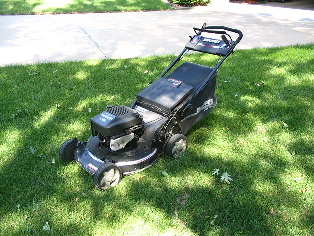 """Briggs And Stratton Engine >> Snapper Model XP21500, rear discharge, 21"""" cast aluminum ..."""