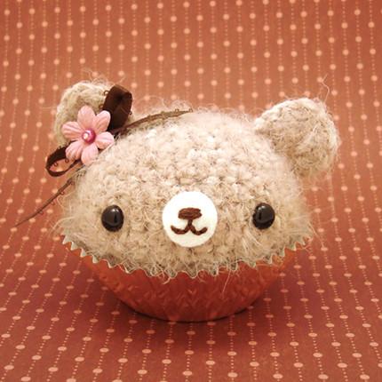 Amigurumi Cute Cupcake : Amigurumi Cupcake Bear for Rachel Flickr - Photo Sharing!