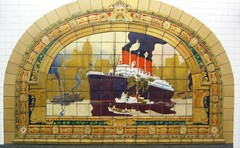 The Marine Grill Murals