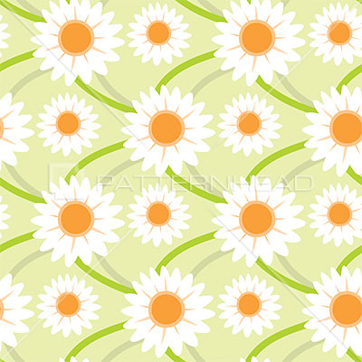 Daisy pattern wallpaper - photo#6