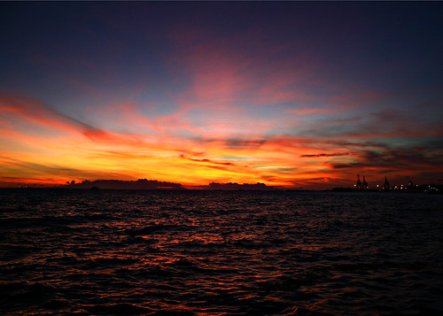 manila bay sunset