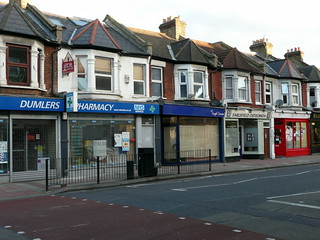 Shops, Earlsfield, London