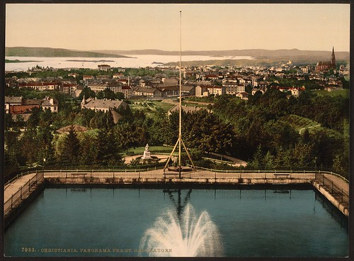 [Panorama from St. Hanshaugen, Christiania, Norway] (LOC)