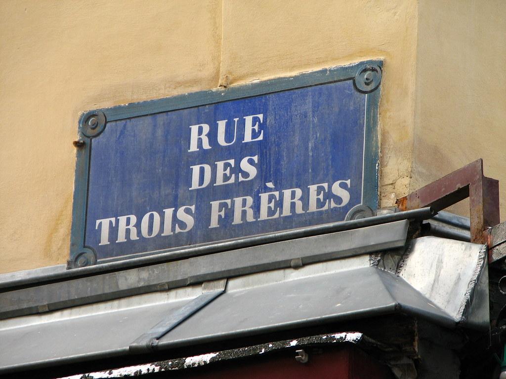 Rue Des Trois Freres