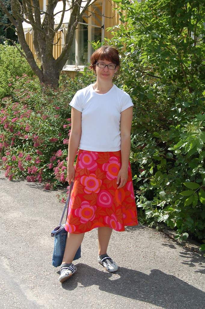 Me in a skirt I made