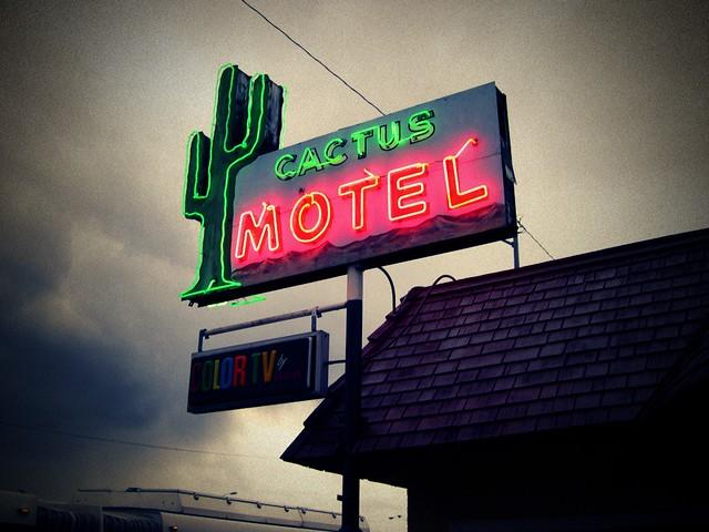 Cactus Motel In Tallahabee Florida
