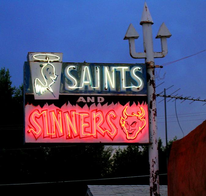 Saints and Sinners - 503 South Riverside Drive, Española, New Mexico U.S.A. - August 31, 2007