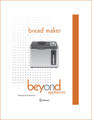 User Manual - Beyond Bread Maker - Toastmaster-Salton, Columbia, MO - 2003