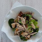 W3 chicken & bread salad