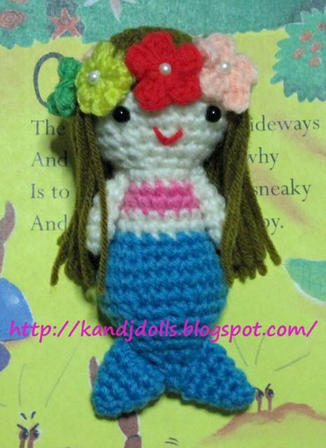 Free Crochet Amigurumi Mermaid Pattern : Ce afba z g