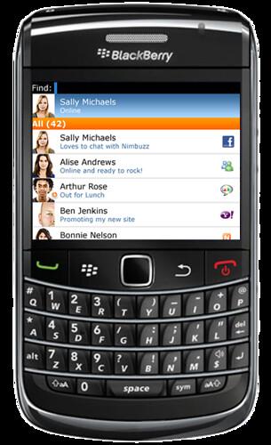 Nimbuzz for Blackberry