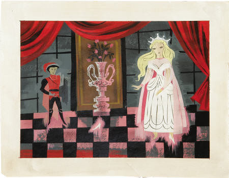 Cinderella concept piece by Mary Blair