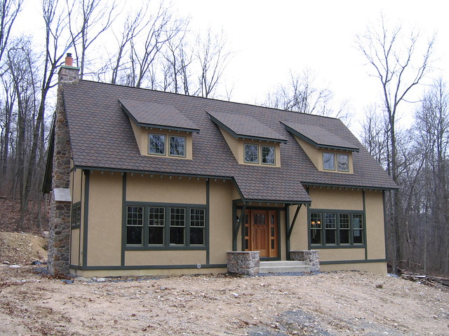 Our Stickley Craftsman House 24 As Built In December