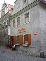 Shakespeare bookstore, Cesky Krumlov