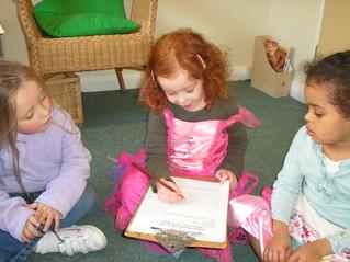 LEYF nursery children planning session